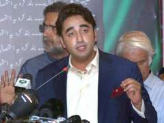 ISLAMABAD: Chairman Pakistan People's Party Parliamentarian, Bilawal Bhutto Zardari addresses media conference during the launch of Party manifesto for the 2018 elections at NPC.