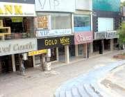 اسلام آباد: تاجر برادری کی ہڑتال کی کال کے باعث جناح سپر مارکیٹ مکمل ..