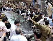 لاہور: قومی احتساب بیورو (نیب) کی ٹیم پنجاب اسمبلی میں قائد حزب اختلاف ..