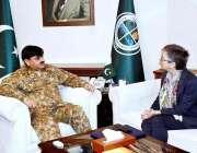 اسلام آباد: چیئرمین نیشنل ڈیزاسٹر مینجمنٹ اتھارٹی(NDMA) لیفٹیننٹ جنرل ..