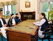 اسلام آباد: علامہ شاہین شاہ حسین نقوی نے وزیر اعظم عمران خان سے ملاقات ..