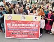 لاہور: پاکستان لیبر فیڈریشن کے زیر اہتمام خواتین کے عالمی دن کے موقع ..