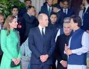 اسلام آباد: ڈیوک وڈچز آف کیمبرج شہزادہ ولیم اور ان کی اہلیہ کیٹ مڈلٹن ..