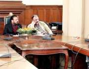 لاہور: صوبائی وزیر خوراک سمیع اللہ چوہدری شوگر سیکٹر سے متعلقہ معاملات ..