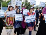 اسلام آباد: پائیدار سوشل ڈویلپمنٹ آرگنائزیشن (ایس ایس ڈی او) کے شرکا ..