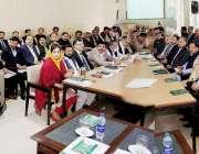 لاہور: صوبائی وزیر سکولز ایجوکیشن مراد راس انرولمنٹ مہم سے متعلق سی ..