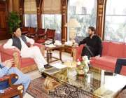 اسلام آباد: وزیر اعظم عمران خان سے سابق کرکٹر شاہد آفریدی ملاقات کر ..