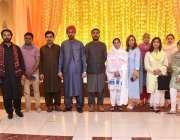 پشاور: ڈائریکٹر عورت فاؤنڈیشن شبینہ ایاز کا وساکھی میلے کے موقع پر ..