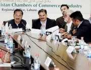 لاہور: صوبائی وزیر کو آپریٹو مہر محمد اسلم بھروانہ ایف پی سی سی آئی ..