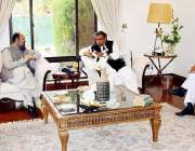 کوئٹہ: وفاقی وزیر برائے سمندری امور سید علی حیدر زیدی اور وزیر اعلیٰ ..