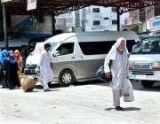 اسلام آباد: عید الفطر اپنے پیاروں کے ساتھ منانے کے لیے اپنے آبائی علاقوں ..