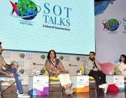 اسلام آباد: پی این سی اے آڈیٹوریم میں دماغی صحت بارے گفتگو کی جا رہی ..