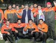 لاہور: ایمرا سالانہ نیشنل آل پاکستان پریس کلبز ٹورنامنٹ2019ء میں شریک ..