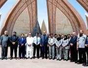 اسلام آباد: وفاقی وزیر صحت عامر محمود کیانی کا اسموک فری زون کی افتتاحی ..