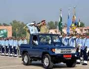 رسالپور: اصغر خان پی اے ایف اکیڈمی میں گریجویشن تقریب کے دوران چیئرمین ..