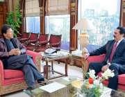 اسلام آباد: وزیر اعظم عمران خان سے سربراہ اسلامی فوجی اتحاد جنرل (ر) ..