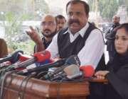 لاہور: پیپلز پارٹی کے پارلیمانی لیڈر سید حسن مرتضیٰ پنجاب اسمبلی کے ..
