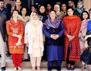 لاہور: صوبائی وزیر صحت ڈاکٹر یاسمین راشد کا فاطمہ جناح میڈیکل یونیورسٹی ..