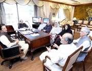 اسلام آباد: وزیر اعظم عمران خان سے بلوچستان عوامی پارٹی کا پارلیمانی ..