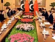 بیجنگ: وزیر اعظم عمران خان نے بیجنگ میں چینی صدر شی جنپنگ سے ملاقات ..