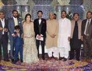 لاہور: تحریک انصاف کے مرکزی رہنما ملک نواز اعوان کے بھتیجے کی دعوت ولیمہ ..