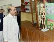 مظفر آباد: صدر آزاد کشمیر سردار مسعود خان کو خبیب کالج راڑہ میں سائنس ..
