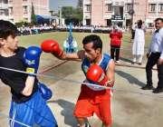 پشاور: زمونگ کور ماڈل انسٹی ٹیوٹ برائے سالانہ بچوں کے سالانہ کھیل کے ..