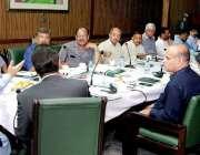 لاہور: صوبائی وزیر جنگلات محمد سبطین خان محکمہ جنگلات میں اعلیٰ سطحی ..
