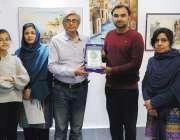 سرگودھا: انچارج انسٹی ٹیوٹ آف آرٹ اینڈ ڈیزائن سرگودھا یونیورسٹی احمد ..