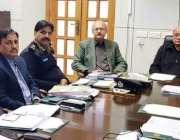 لاہور: صوبائی وزیر قانون راجہ بشارت صوبے میں سکیورٹی اور امن و امان ..