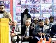 لاہور: مہاج یونیورسٹی کے سپورٹس فیسٹیول کی اختتامی تقریب سے آئی سی ..