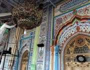 راولپنڈی: رمضان المبارک کی تیاریوں میں مصروف خادم قدیمی جامعہ مسجد ..