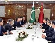 بشکیک: وزیر اعظم عمران خان اور چینی صدر ژی جن پنگ وفود کے ہمراہ ملاقات ..