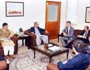 اسلام آباد: وزیر اعظم کے معاون خصوصی برائے فنانس، ریونیو اینڈ اکنامک ..