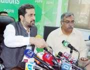 لاہور: صوبائی وزیر کالونیز فیاض الحسن چوہان ڈی جی پی آر میں پریس کانفرنس ..