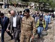 نیلم: خطے میں بھارتی فوج کی دہشت گردی  کے بعد وادی نیلم کا دورہ کرنے ..