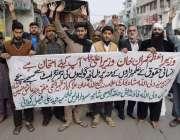 لاہور: ولی اللہ فاؤنڈیشن کے زیر اہتمام سانحہ ساہیوال کے خلاف احتجاج ..