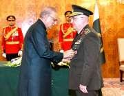 اسلام آباد: صدر مملکت ڈاکٹر عارف علوی ترکی کی مسلح افواج کے سربراہ جنرل ..