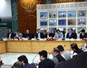 اسلام آباد: وفاقی وزیر منصوبہ بندی ، ترقیات و اصلاحات مخدوم خسرو بختیار ..