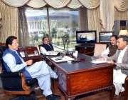 اسلام آباد: وزیر اعظم عمران خان سے ایم این اے محمد اسلم بھوتانی ملاقات ..