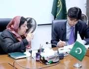 لاہور: صوبائی وزیر صحت پنجاب ڈاکٹر یاسمین راشد پرائمری اینڈ سیکنڈری ..