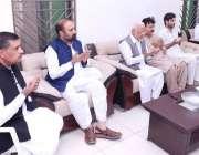 پشاور: پی ٹی آئی کے مرکزی رہنما اعجاز احمد چوہدری وزیر معدنیات خیبر ..