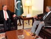 اسلام آباد: وزیر خارجہ شاہ محمود قریشی سے نیشنل یونیورسٹی آف سائنس ..