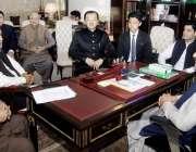 لاہور: وزیراعلی پنجاب سردار عثمان بزدار سے چین کے میشنگ انٹر نیشنل ..