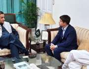 اسلام آباد: وزیر اعظم کے معاون خصوصی برائے موسمیاتی تبدیلی ملک امین ..