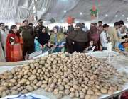راولپنڈی: ایڈیشنل ڈپٹی کمشنر ملیحہ جمال رمضان سستا بازار کا دورہ کر ..