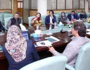اسلام آباد: وزیر اعظم کے مشیر برائے یوتھ افیئر محمد عثمان ڈار اعلیٰ ..