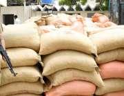 لسبیلہ: پاکستان کوسٹ کارڈز کی کاروائی میں برآمدکی گئی منشیات اور چھالیہ۔