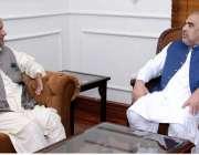 اسلام آباد: سابق وزیراعظم آزادکشمیر سردار عتیق احمد خان نے اسپیکر قومی ..