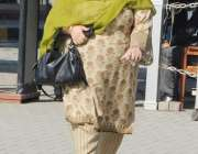 لاہور: ایک خاتون رکن پنجاب اسمبلی کے اجلاس میں شرکت کے لیے آ رہی ہیں۔